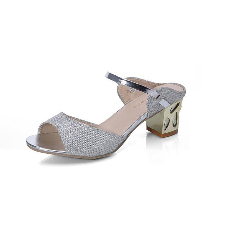 ead1aa7fb5b Designer Dress Shoes 2019 Summer Ankle Strap Heels Women Sandals Fashion  Design Women Open Boat High Heels With Crude WSA72 Vegan Shoes Cheap Heels  From ...