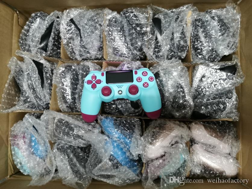 TOP de Qualidade Wireless Controller CHOQUE 4 Gamepad para Sony PS4 Play Station Joystick Vibração Com pacote de varejo Game Controller