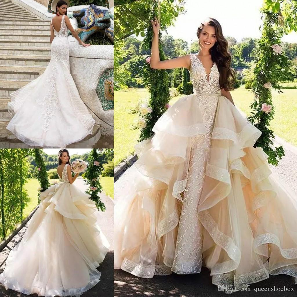 Discount Milla Nova Mermaid Wedding Dresses With