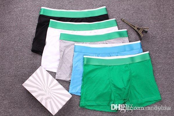 ba4b95021 Compre Homens Crocodilo Boxer Shorts Sexy Cuecas Jovem Macio Confortável  Moda Famosa Marca Elástica Boxer Underwear Para Homens De Andylew, ...