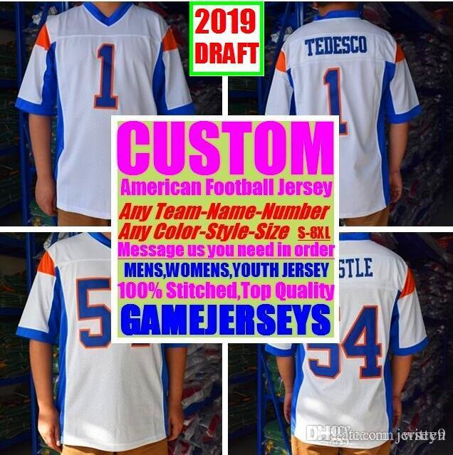 All Stitched Custom american football jerseys Arizona Atlanta college authentic cheap baseball basketball mens womens youth USA 4xl factory