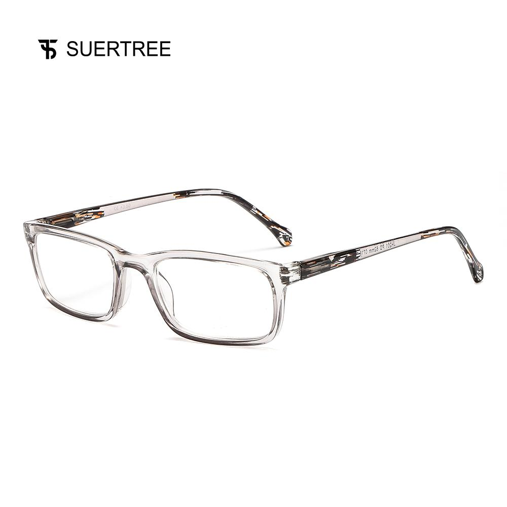 c6a21f9ac77 2019 SUERTREE Fashion Computer Reading Glasses Women Men Anti Glare Glasses  Frame Readers Spring Hinge Comfort Eyewear JH200 From Marquesechriss