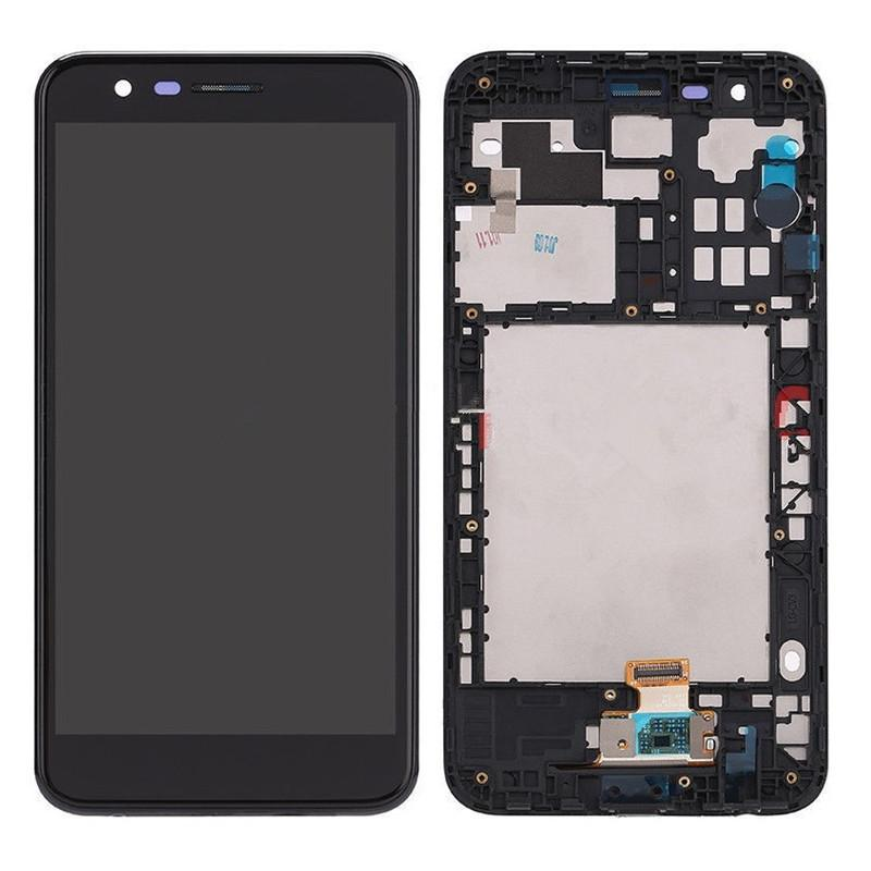 For LG K10 2018 K30 LCD Display Touch Screen Digitizer Frame Assembly Replacement for For LG
