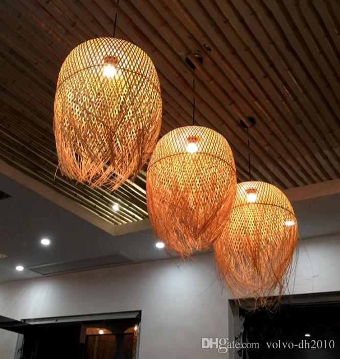 D Créative Gratuit Modelage Thé Zen Individualité RestaurantHébergementAbat En Chinois Jour Bambou Lustre De Art Lampe Salon 0nOwPk8