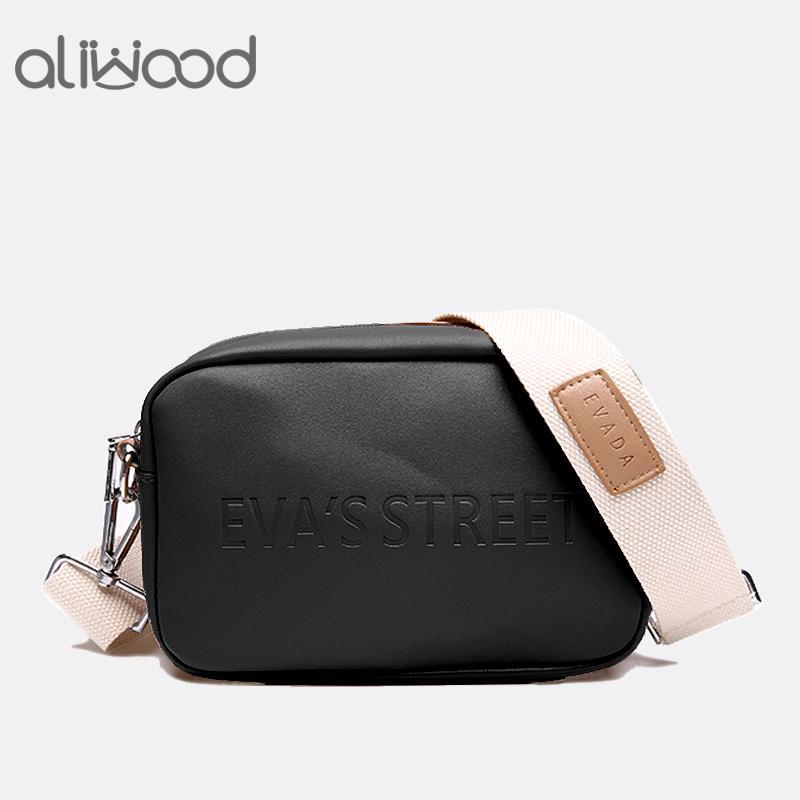 987cb77335d uggage Bags Handbags Aliwood Brand Designer Leather Women bag Ladies  Shoulder Messenger Bags Handbag Letter Flap Simple Fashion Females C...