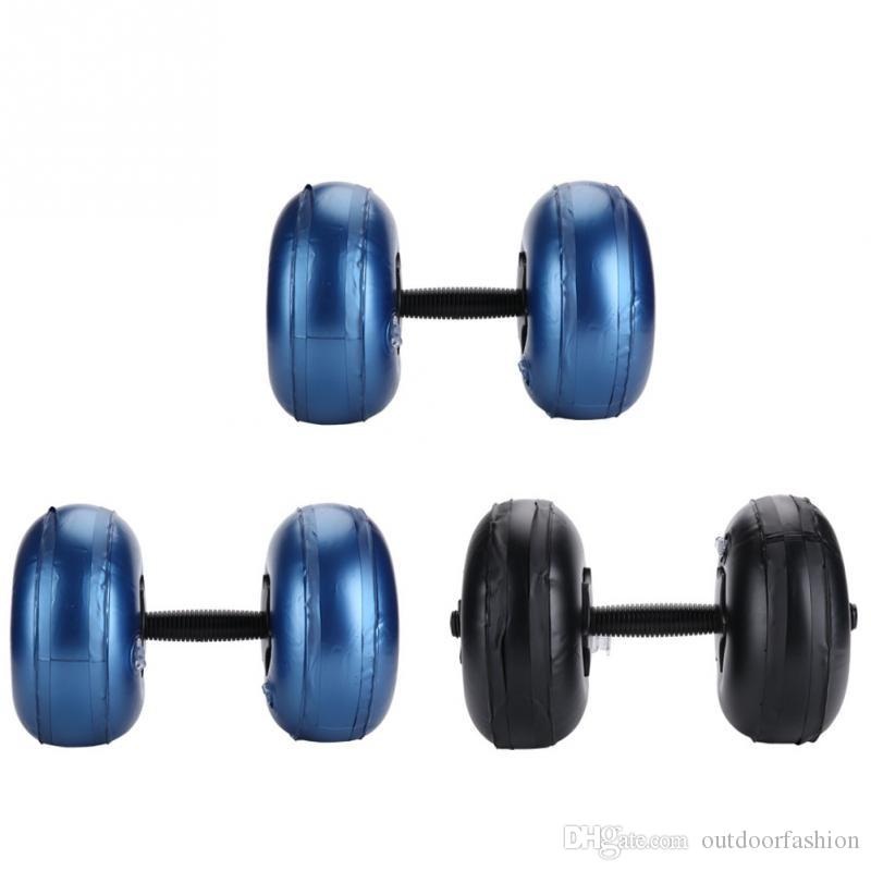 956d2a473 Compre Conjunto De Halteres Dumbbell Ajustável Anti Vazamento Portátil 8  10Kg   16 20Kg PVC Halterofilismo Musculação Ginásio Barbells Equipamento  De ...