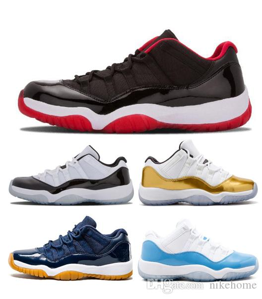 reputable site 7050b 6f27c Space Jam 11 11s Mens Basketball Shoes Concord Gamma Blue Legend Blue High  Heiress XI Designer Shoes Sport Sneakers US 5.5-13