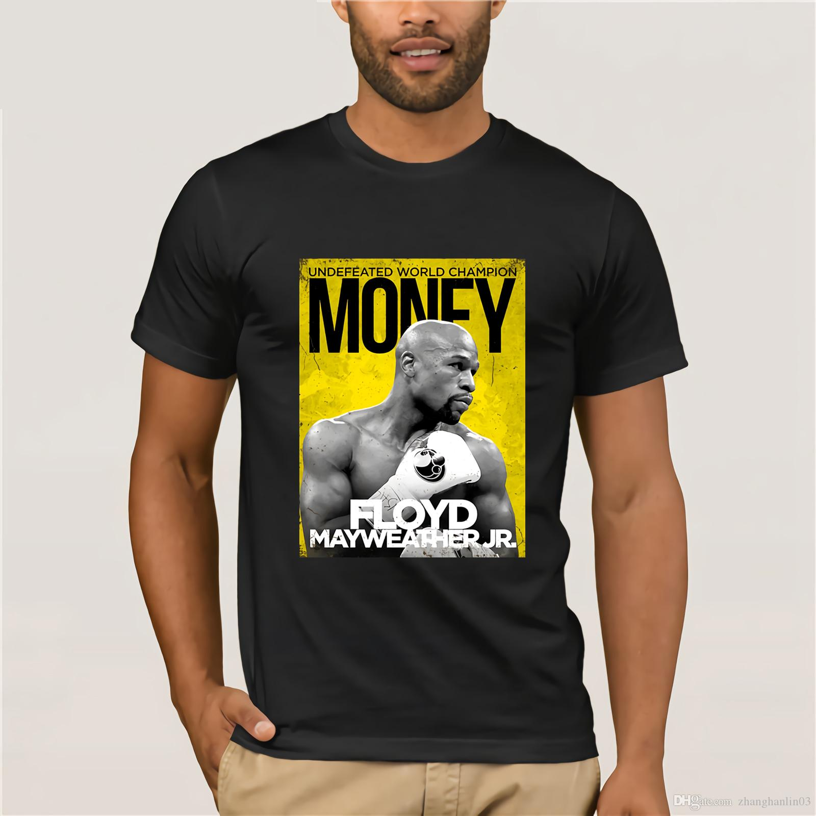 110306eb Custom Money Team FLOYD MAYWEATHER Cool T Shirt For Man Fashion Street Wear  Black Tops Tees Character Poster That T Shirt But T Shirts From  Zhanghanlin03, ...