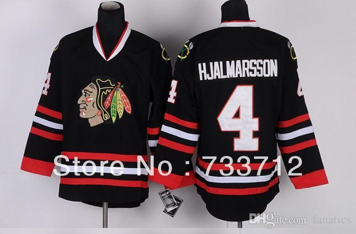 san francisco 1d0e9 c198d 2016 Free Shipping Cheap Chicago Blackhawks Hockey Jerseys #4 Niklas  Hjalmarsson Jersey Wholesale Embroidery Logos Mix Order
