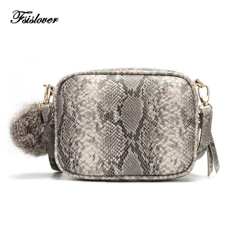 3bd482bc91 2019 Fashion Retro Serpentine Snakeskin Leather Mini Small Women Crossbody Bag  Women S Handbag Messenger Shoulder Bag Totes Bolsa Feminina Designer  Handbags ...
