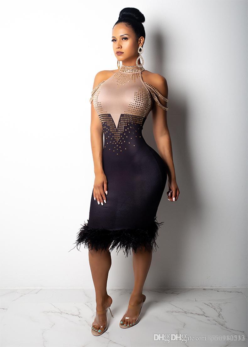 74157ef10344 Acquista Vestito Da Ballo Latino Bling Delle Donne Vestito Da Freccette  Color Arcobaleno Sexy Da Club Vestito Da Frangia Paillettes Graduale Con  Nappe ...