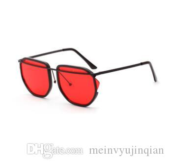 new fashion classic sunglasses attitude sunglasses gold frame square metal frame vintage style outdoor design classical model a25