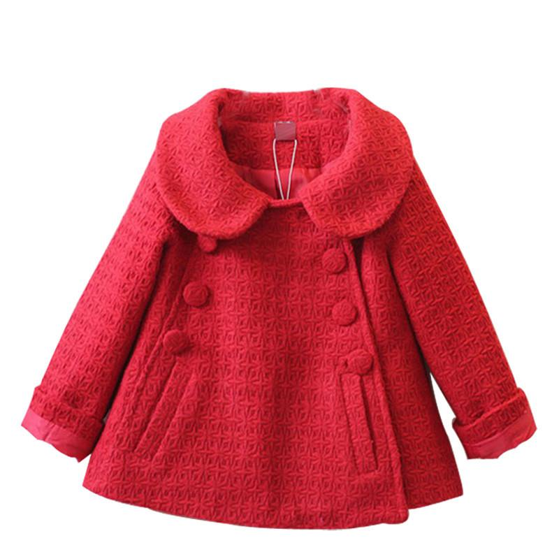 d1cdfe9e8c49 New Fashion Kids Coat Autumn Spring Baby Girl Clothes Autumn Girls ...