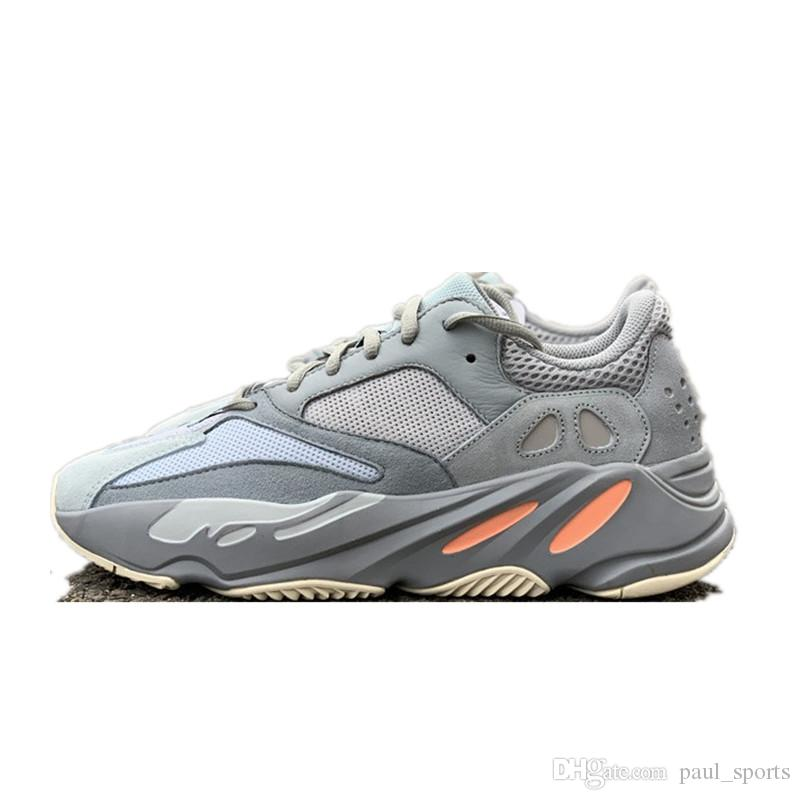 fe4535cdbdb8d2 Kanye West X Runner Mauve 700 Inertia Grey Orange Running Shoes For Top  Quality 700s Men Women Outdoors Sneakers Chaussures Size 36 48 Best Running  Shoes ...