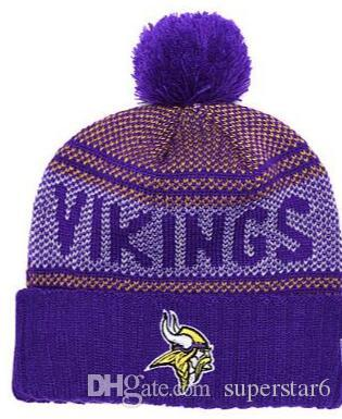 Top Selling Minnesota Beanie MIN Beanie Sideline Cold Weather Reverse Sport  Cuffed Knit Hat With Pom Winer Skull Cap Bow Tie Ties From Superstar6 c64340c9f