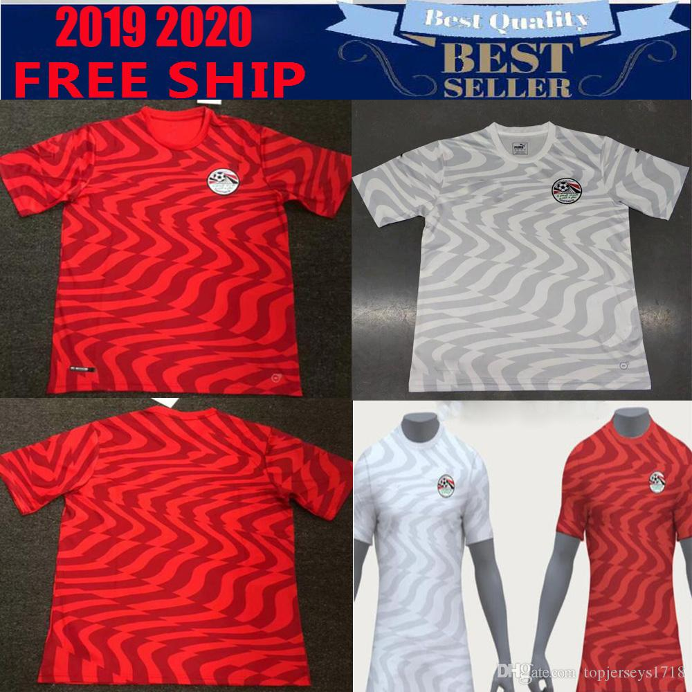 5d1bc6877 2019 New 2019 2020 Egypt Home Soccer Jerseys M.Salah Futbol Camisa National  Camisetas Shirt Kit Maillot Tops Maglia From Topjerseys1718, $14.26 |  DHgate.Com