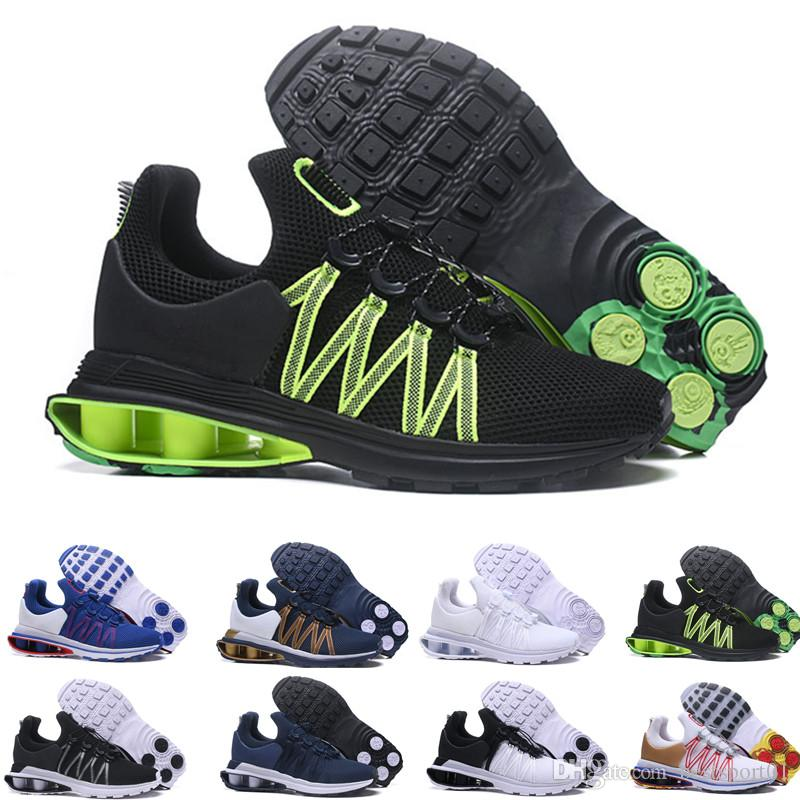 Nike Shox Gravity Metallic Silber Schuhe für Herren
