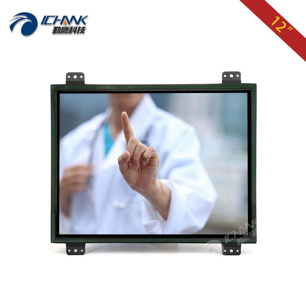 Unterhaltungselektronik Bildschirme 2019 Mode Großhandel 4:3 Display Monitor Lcd Monitore Video Display Werbung 12 Zoll Lcd Monitor Dvi Vga Hd