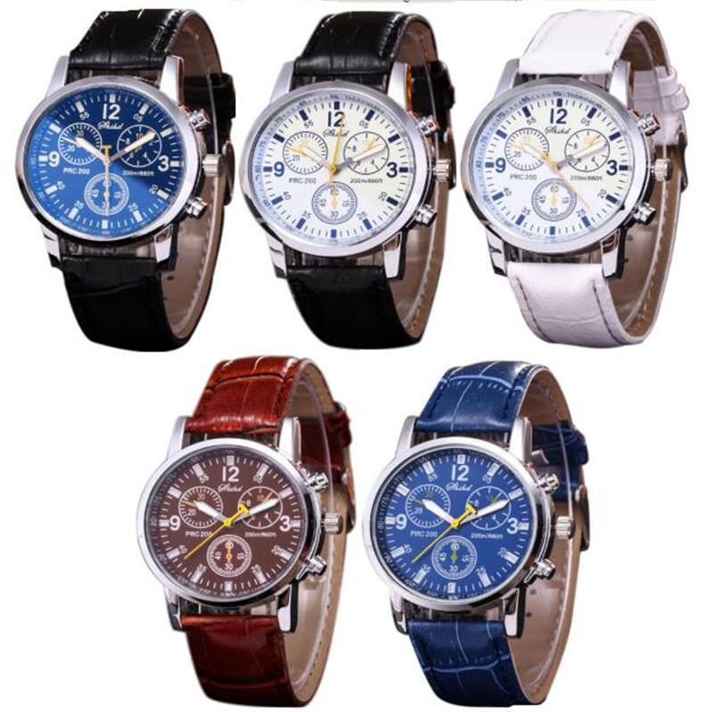 b782ba512058 Compre 2019 Marca Para Hombre Reloj De Diseño De Moda Nueva Ginebra Reloj  Rueda Casual Hombres De Negocios De Cuero De Cuarzo Relojes De Pulsera  Relojes De ...