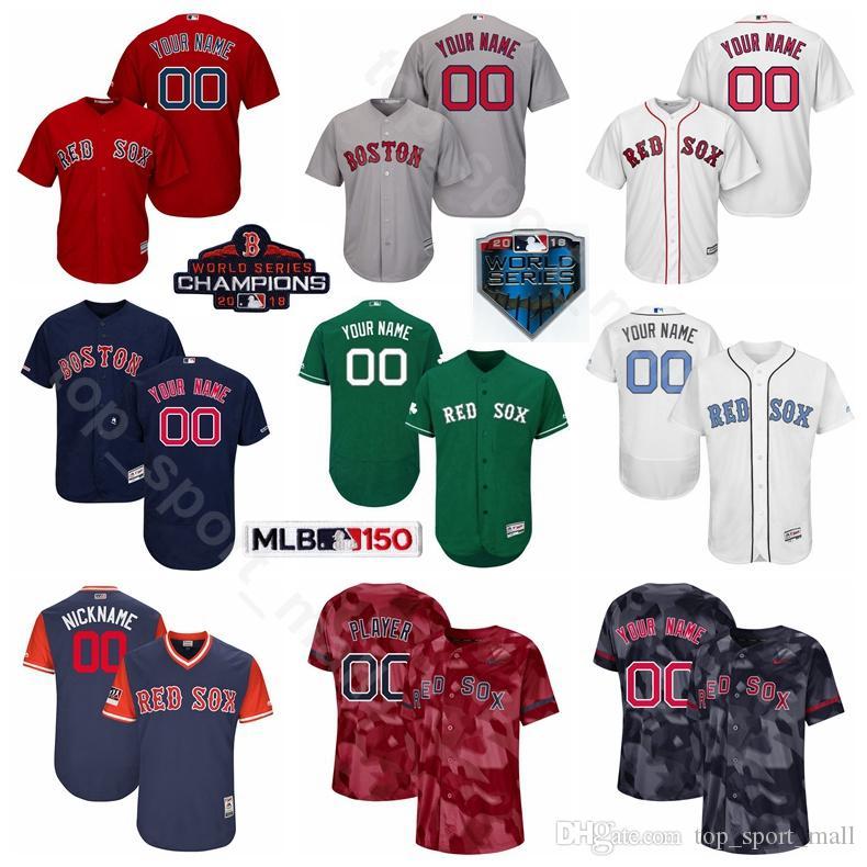 f176c4fdf Boston Baseball Red Sox 2 Xander Bogaerts Jersey 18 Mitch Moreland ...