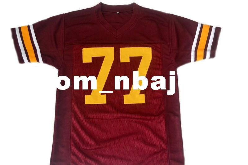 Wholesale Anthony Munoz  77 USC Trojans New Football Jersey Maroon Stitched  Custom Any Number Name MEN WOMEN YOUTH Football JERSEY Anthony Munoz Munoz  ... db5603da5