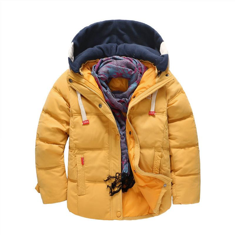 a4221e827 Quality Kids Cotton Down Jacket Coat Hooded Outerwear Baby Girls ...