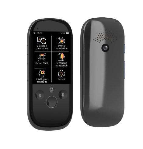 K1 Pro AI portable Smart voice translator 4GB 2 4 Inch 75 Language Travel  Business Meeting pocket language translator