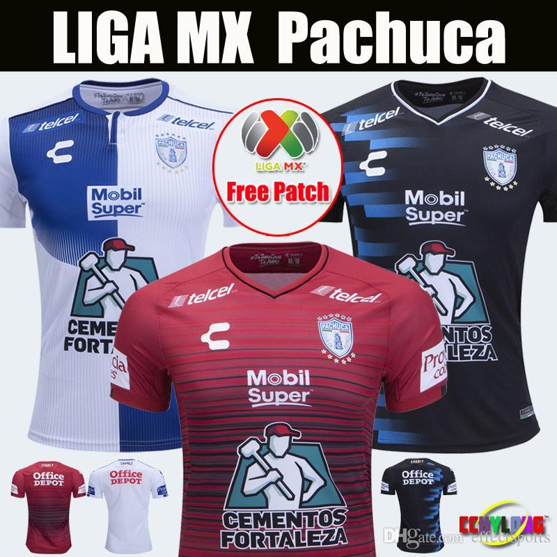 886c48756 Thailand AAA+ 2018 2019 Pachuca Soccer Jerseys Mexico Club LIGA MX Pachuca  CF Santos Laguna Unam Cruz Azul Camiseta 18 19 Football Shirts Pachuca  Pachuca ...