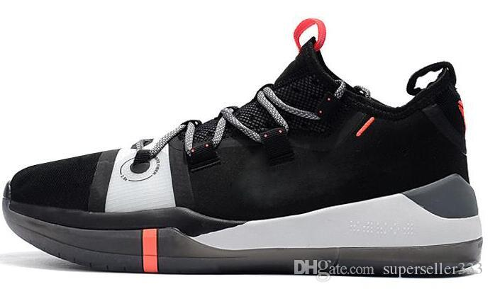 new style 606a7 3d7b2 2019 Kobe AD EP Mamba Day Sail Multicolor Men Basketball Shoes Wolf Grey  Orange Black White Mens Trainers Sports Sneakers
