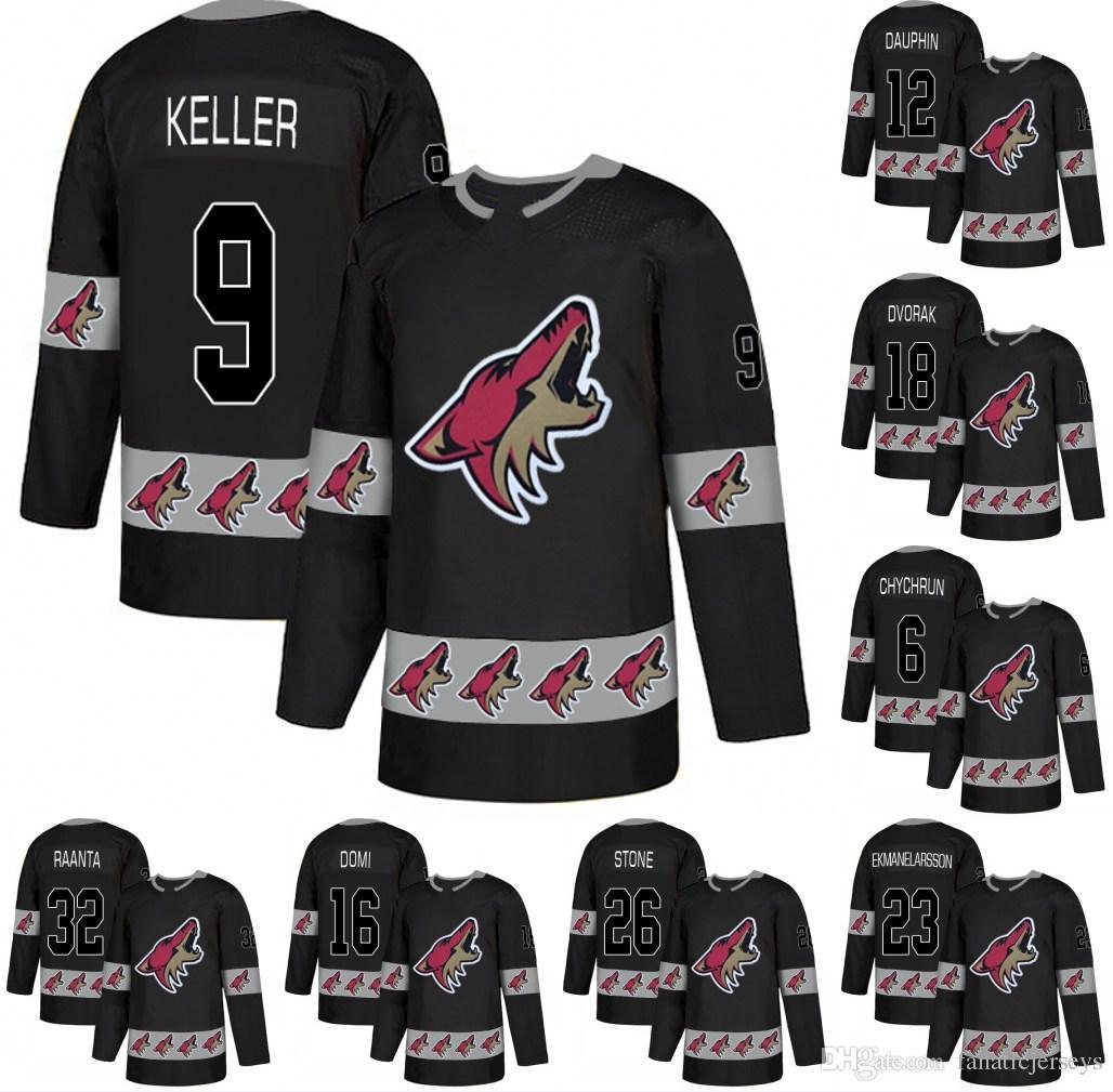 21240e6ae Men Arizona Coyotes 9 Clayton Keller 23 Oliver Ekman-Larsson 67 Lawson  Crouse 25 Nick Cousins 17 Alex Galchenyuk Hockey Jerseys Arizona Coyotes  Jersey ...