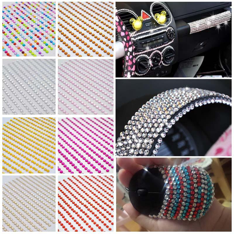 4682937b52 craft cloth 1040Pcs 3MM Flat Back Acrylic Rhinestones Apparel Sewing Fabric  Nail Art DIY Phone Case Decor Arts Crafts Gifts Supplies