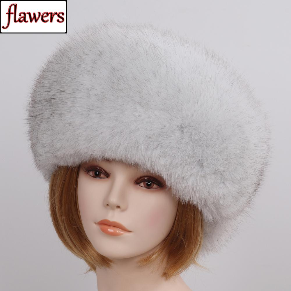 0d4305bb8ba5c 2019 Fashion New Style Luxury Winter Russian Natural Real Fox Fur Hat 2019  Women Warm Good Quality 100% Genuine Real Fox Fur Cap From Ravishing
