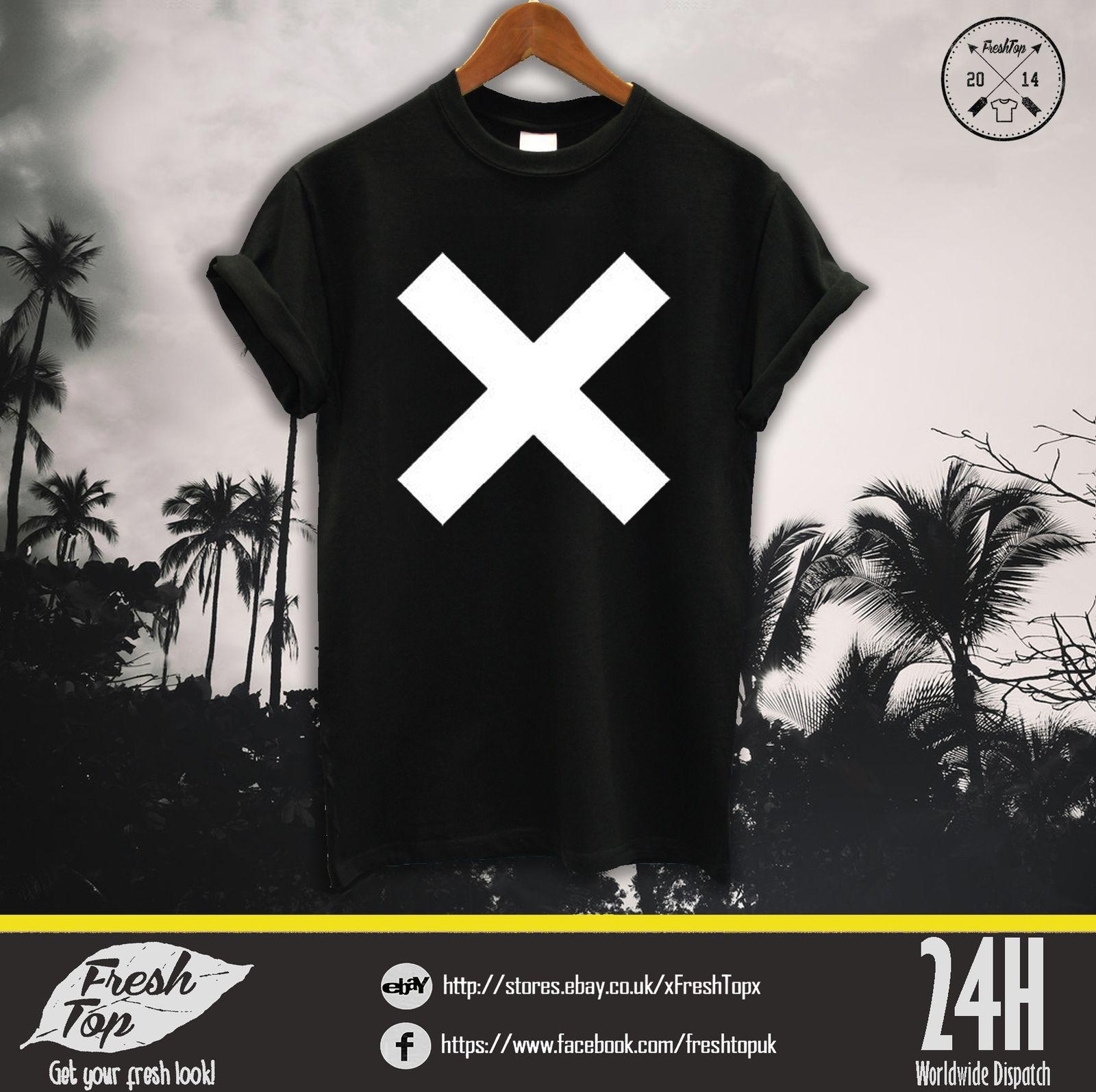 3b8e2417 The XX T Shirt Top Rum Band Coexist Indie Crooks Rock Amsterdam White Black  Tee Cool Casual Pride T Shirt Men Poker T Shirts Tshits From Cls6688521, ...