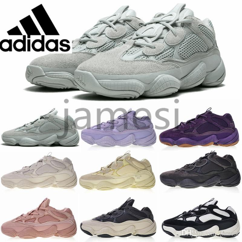 5f40fe80 2019 new Adidas Air Yeezy 500 Athletic Running shoes Luxury Designer 700  Blush Desert Rat runner Kanye west 500s Boost Super Moon Yellow Salt  Utility 350 .