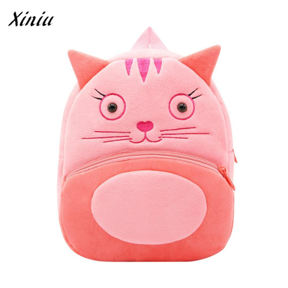 0989a0587a62 Children Baby Girls Boys Kids Cute Cartoon Animal Backpack High Quality  Vintage Designer Toddler School Bag Candy Colored Backpacks Cheap Backpacks  Children ...