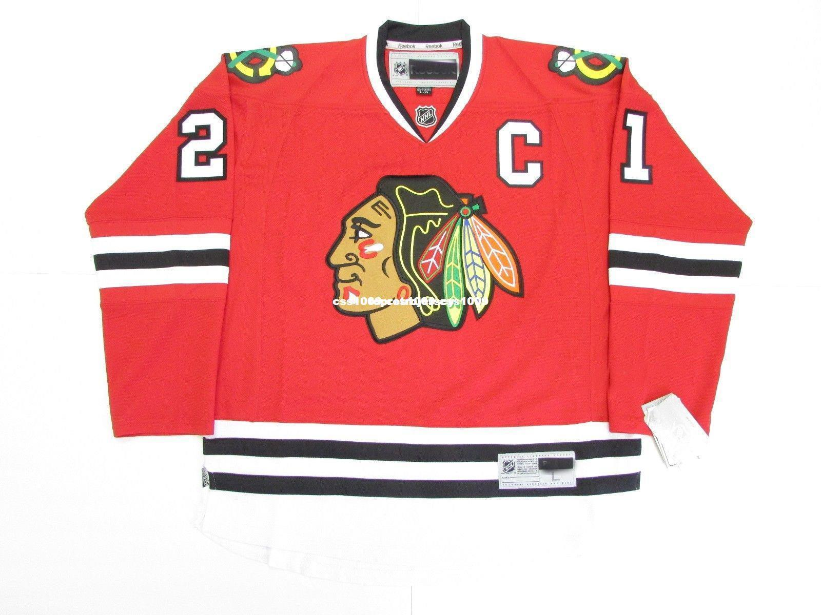 ab3298a0803af 2019 Cheap Custom STAN MIKITA CHICAGO BLACKHAWKS HOME PREMIER HOCKEY JERSEY  WITH C Stitch Add Any Number Any Name Mens Hockey Jersey XS 6XL From ...