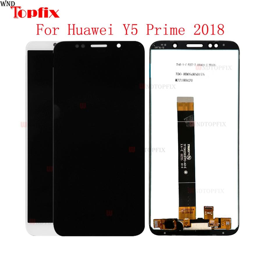 5 45inch LCD For Huawei Y5 Prime 2018 DRA-L02 DRA-L22 DRA-LX2 100%Tested  LCD Display Touch Screen Digitizer Assembly Replacement