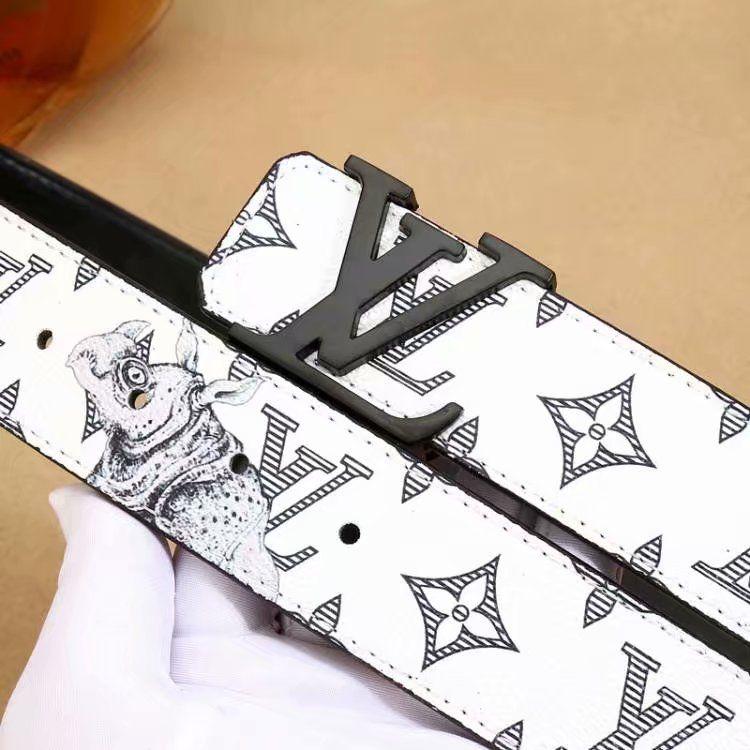 18103175047d 2018 With Belt Fashion New Brand Designer Alloy Buckle Belt Mens Luxury  Genuine Leather Waist Belts For Men Women Studded Belt Plus Size Garter  Belt From ...