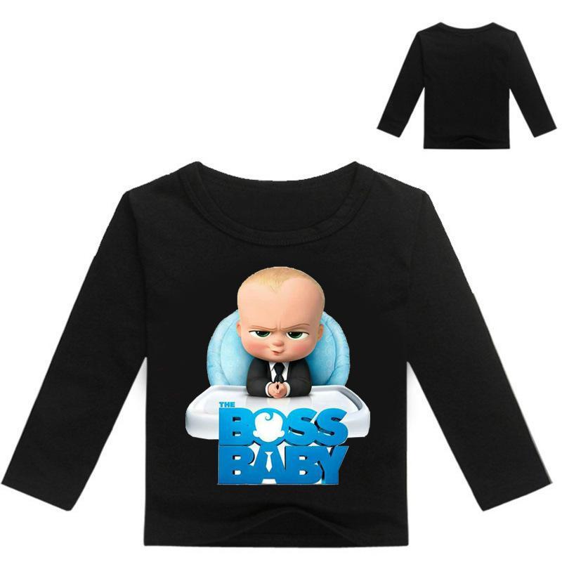 89d2114b87c1c Acheter 3 16ans Bobo Choses 2019 The Baby Boss Enfants T Shirts T Shirts  Garçons Manches Longues Filles Chemises Ados Vetement Enfant De  24.62 Du  Westbit15 ...