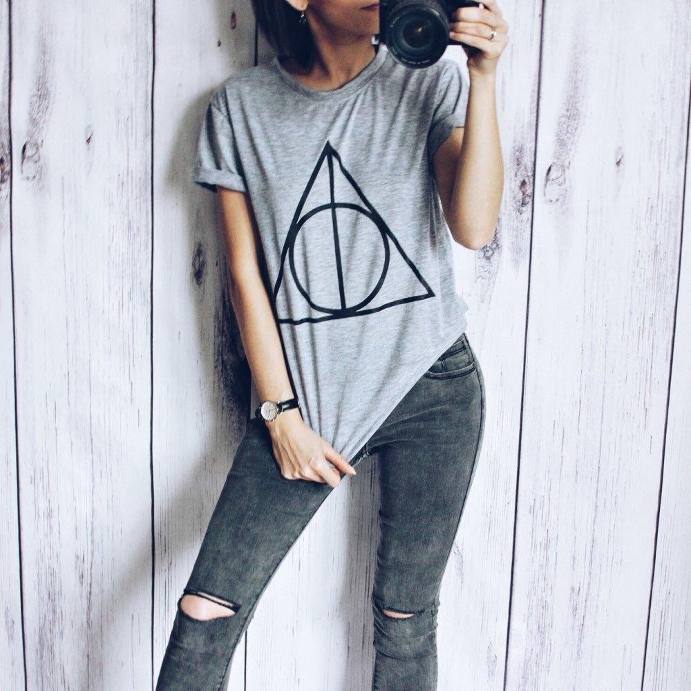 d27f08f406c Geometric Print Women T Shirts 2019 Korean Style Summer Short Sleeve Tops  Casual Female Loose Top Tee Plus Size Womens Clothing D19011602 T Shirts  Funny ...