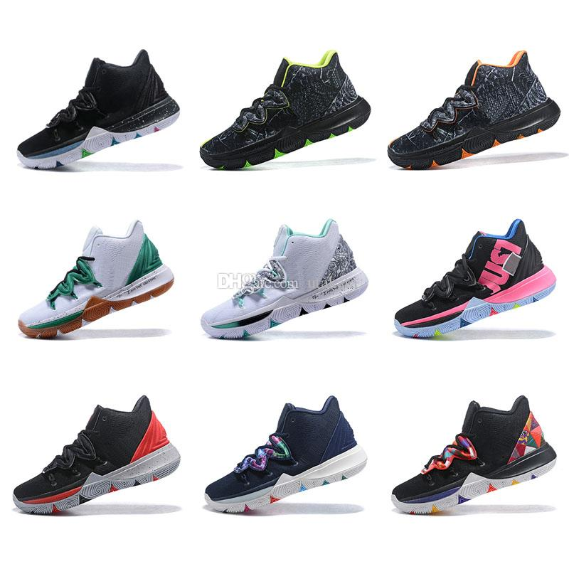 722f648a646 Kyrie 5 Black Magic Zoom Turbo 5s V Release Date Low Rumors Sneakers  Customize Launch Leak Concept Kyrie Kyrie 5 Us Size 7 12 Mens Shoes Sneakers  From ...