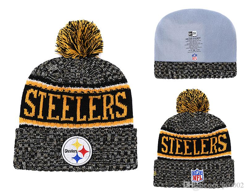 42c59bb9e5f Men s Pittsburgh Steelers New Black 2018 Sideline Cold Weather ...