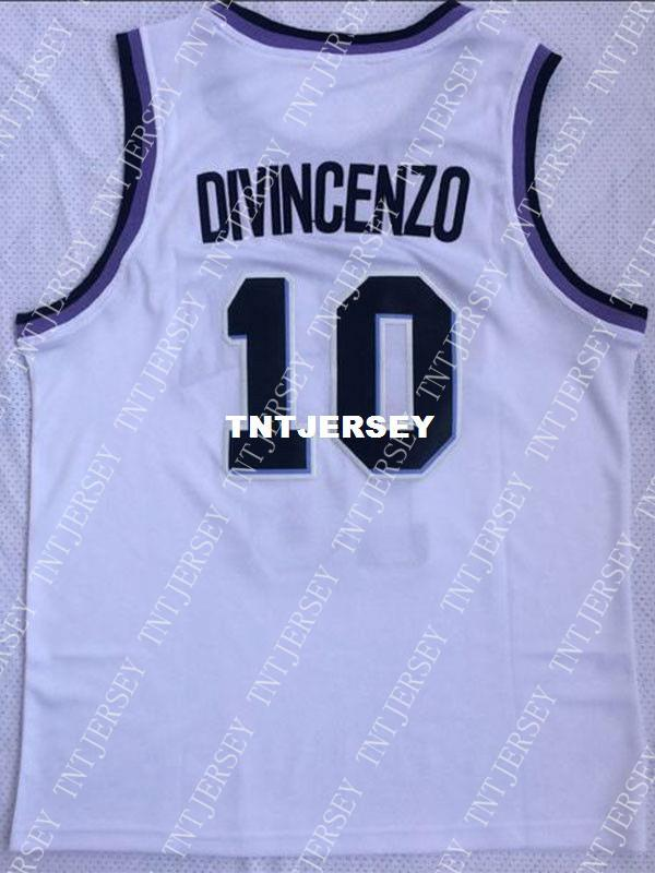 8e4b499f2 2019 Cheap Wholesale Donte DiVincenzo Jersey 10 Villanova Wildcats Sewn  College Basketball Jersey Customize Any Name Number MEN WOMEN YOUTH From  Tntjersey