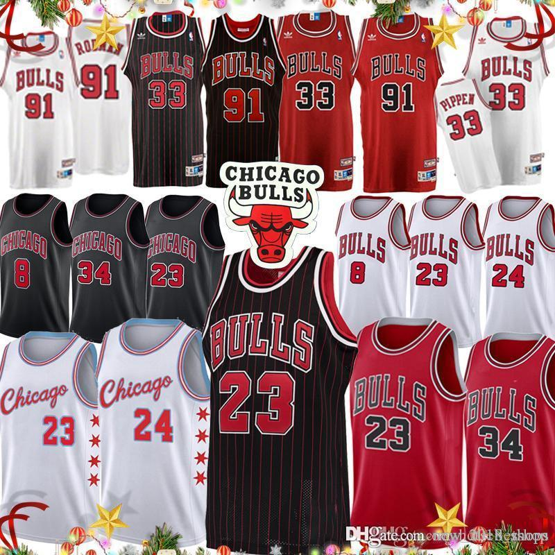 free shipping 63485 47723 23 Michael chicago Jersey bulls youth basketball jerseys retro Lauri 24  Markkanen Zach LaVine 8 Scottie Pippen 33 Dennis Rodman 91Cheap