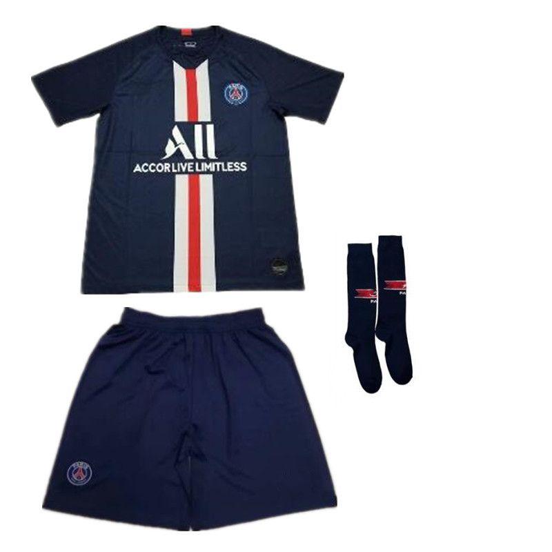 new style 89985 8ec56 Psg soccer jersey 2019-2020 Adult Paris Champions League MBAPPE jerseys set  19 20 psg football shirt kit