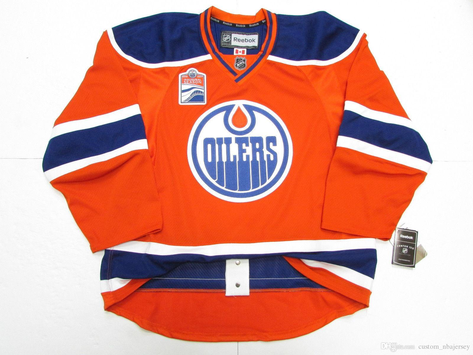 c85e01bbe 2019 Cheap Custom EDMONTON OILERS THIRD INAUGURAL SEASON JERSEY Stitch Add  Any Number Any Name Mens Hockey Jersey XS 5XL From Custom_nbajersey, ...