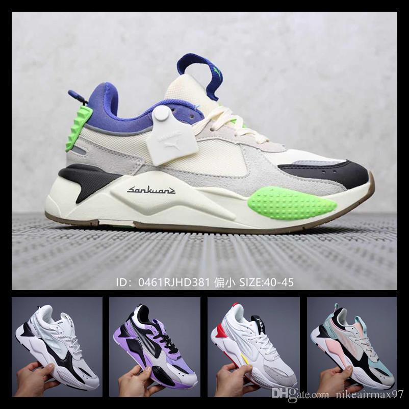 [With sport watch]New Creepers High Quality RS-X Toys Casual Shoes Reinvention Shoes New Men Women Running Basketball Casual Sneakers