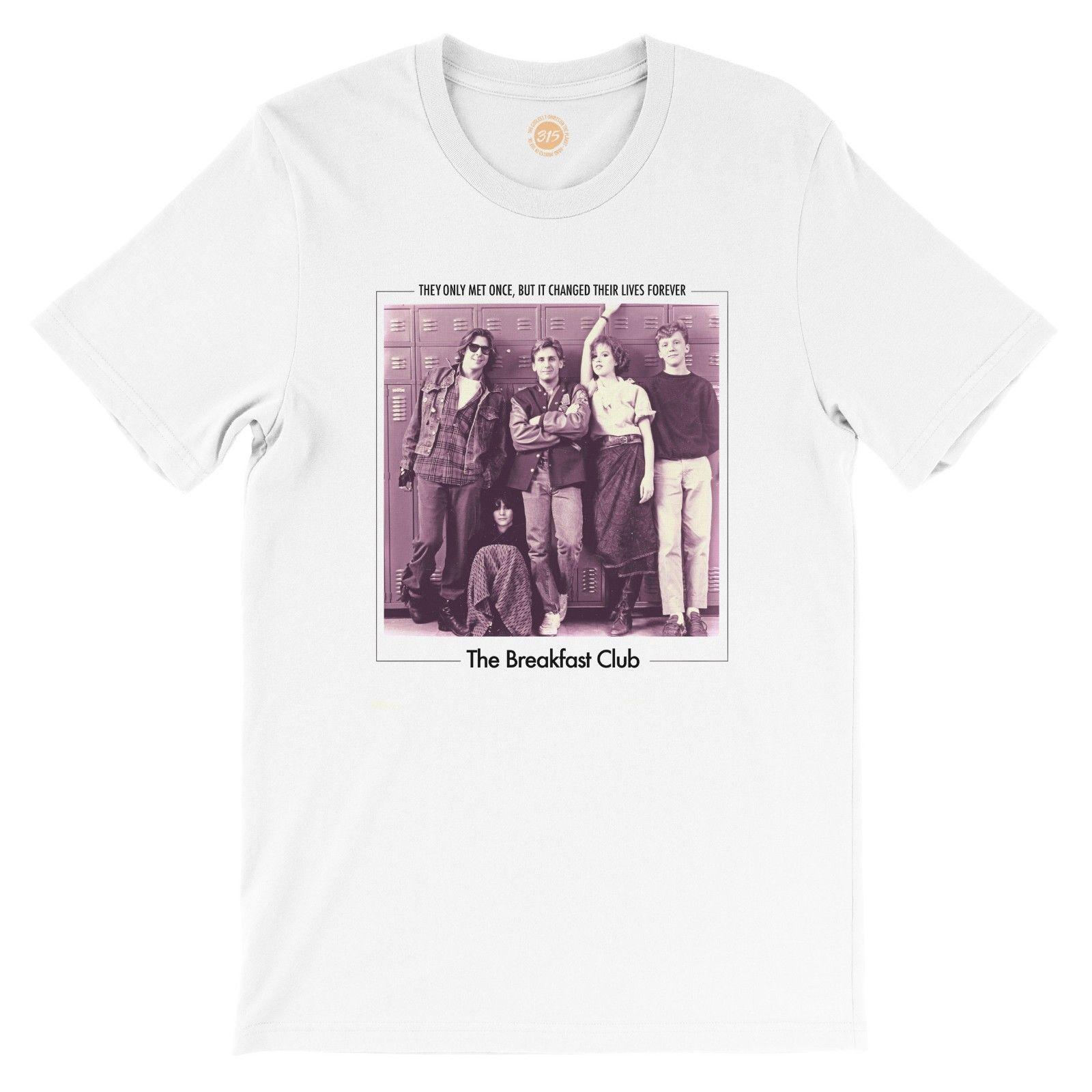 a6c2d20932 The Breakfast Club T-shirt by Studio315 80s movieFunny free shipping Unisex  Casual Tshirt