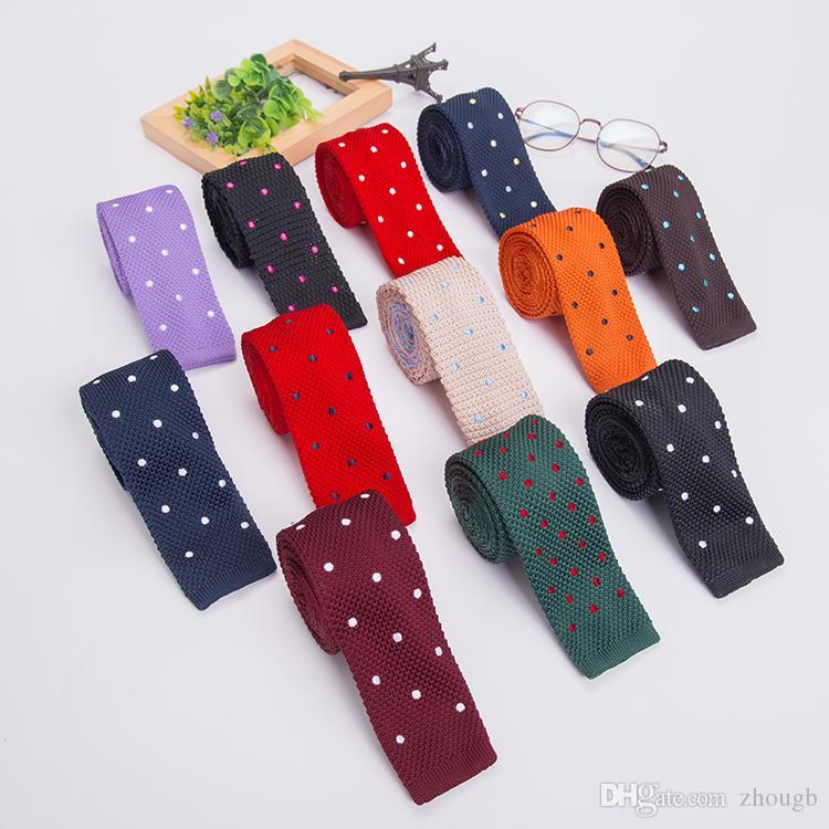 50 Farben Mens Dünne Krawatten Herren Polyester Plain Dünne Krawatte 5 Cm Breite Solide Krawatten Schlank Krawatte Bekleidung Zubehör 100 Stücke