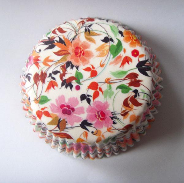 Pretty Colorful Flower Petal Wedding Paper Cake Cup Liner Baking Muffin Tray Cupcake Cases 1 A From Bf Sunshinelife